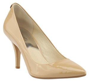Michael Kors Patent Leather Beige Pumps