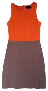 Cynthia Rowley short dress Orange, grey on Tradesy