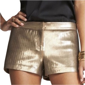 Express Mini/Short Shorts gold