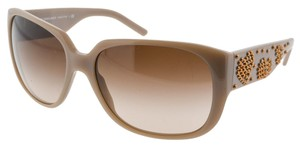 Burberry Burberry B 4096 Beige with Bronze Stud Detail Sunglasses (9692)