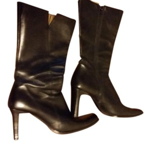 Charles David Black Leather. Boots - item med img