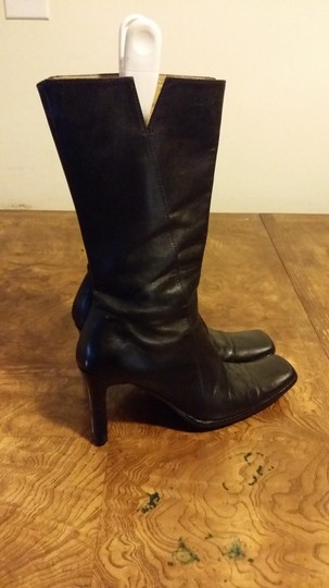 Charles David Black Leather. Boots