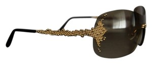 Fred Lunettes FRED LUNETTES Sunglasses PEARLS FM130509 Gold Champagne Frame