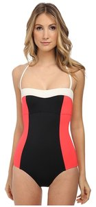 Kate Spade Kate Spade New York Casablanca Bandeau Maillot swimsuit. Women's size XL