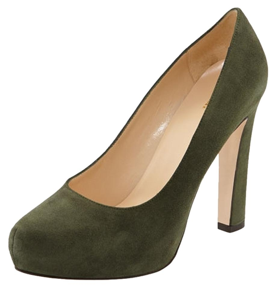 9be2c2ab964 Kate Spade Green Nessie Loden Pumps Size US 8.5 Regular (M