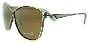 Givenchy Givenchy SGV A52 0305 Black and Gold Metal Oversize Sunglasses (10349)