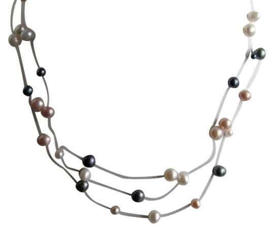 Preload https://item1.tradesy.com/images/14k-multi-color-baroque-pearl-tin-cup-3-strand-freshwater-item1-necklace-1474980-0-1.jpg?width=440&height=440