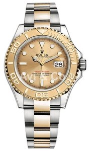 Rolex Rolex Yacht-Master 40 Steel & Yellow Gold Watch Champagne Dial 16623