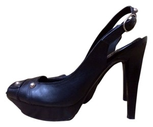 BCBGeneration Bcbg Generation Leather Black Pumps