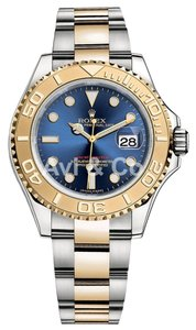 Rolex Rolex Yacht-Master 40 Steel & Yellow Gold Watch Blue Dial 16623