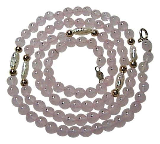 Preload https://img-static.tradesy.com/item/1475052/14k-yellow-gold-beads-pink-quartz-and-pearl-freshwater-item-2-necklace-0-0-540-540.jpg