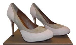 Donald J. Pliner Flesh-Taupe Pumps