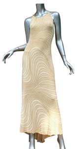 beige Maxi Dress by Other Cocktail