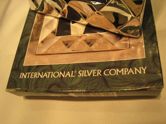 International Silver Company Silver-Plated Photo Frame (for Photos 3.5