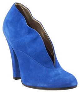Marc Jacobs Suede Heels Blue Pumps