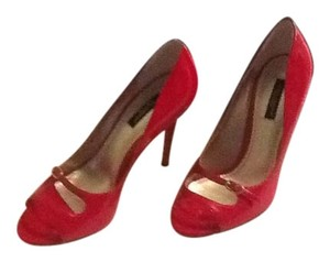 Dolce&Gabbana Red Patent Leather Pumps
