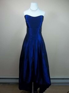 Alfred Angelo Royal Taffeta 7184 Formal Bridesmaid/Mob Dress Size 14 (L)