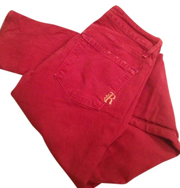 Item - Red Light Wash Skinny Jeans Size 27 (4, S)