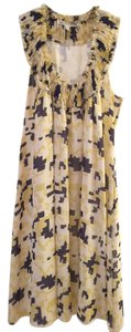 Twenty8Twelve short dress Black and yellow Abstract Print on Tradesy