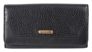 Burberry Burberry Black Penrose Continental Wallet