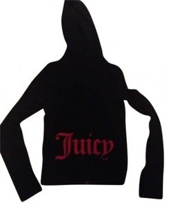 Juicy Couture Dark blue, pink lettering on back Jacket