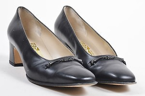 Salvatore Ferragamo Vintage Black Pumps