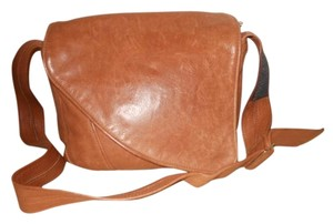 Robert K. Smith Leather Concealed Weapon Cross Body Bag