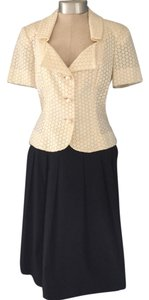 Peggy Jennings Eyelet Top with Pleated Skirt