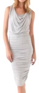 Alice + Olivia short dress Grey on Tradesy