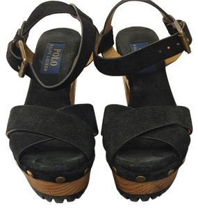 Polo Ralph Lauren Black Sandals