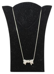 Juicy Couture Bow Charm Necklace