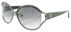 Givenchy SGV373G Color 0568 Grey and Black Pattern Sunglasses (9587)