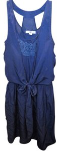 Ya Los Angeles short dress Midnight Blue on Tradesy