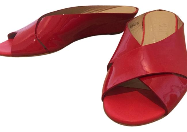 Item - Red Patent Comfort Classic Like-new Wedges Size US 8.5 Regular (M, B)