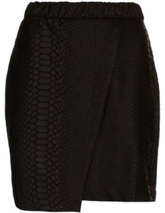 Topshop Mini Skirt Black