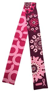 Coach Coach Logo Burst Design Breast Cancer Research Ponytail Scarf