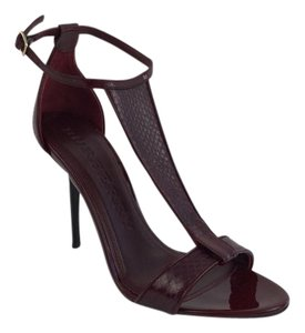 Burberry Blood Red Sandals