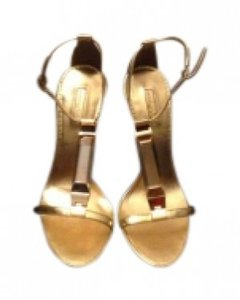 Report Signature Zoey Gold Sandals
