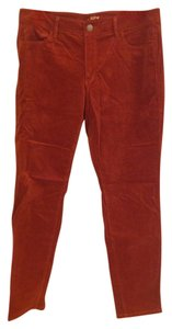 Ann Taylor LOFT Skinny Pants Rust Orange