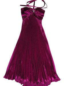 Camille la Vie Halter Formal Full Length Dress