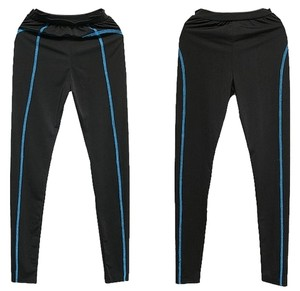 other electric blue side stich active wear yoga and exercise active wear leggings - freesized for XS/S