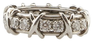 Tiffany & Co. Tiffany & Co. Schlumberger PT 950 Diamond 1.14ct. 3mm Ring, Size 5.5 (80787)