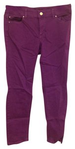 White House | Black Market Skinny Pants Dark purple