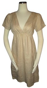 FEI short dress Gold Anthropologie on Tradesy