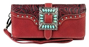 Montana West TR30-W002 Trinity Ranch Buckle Collection Wallet