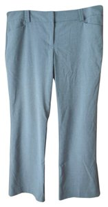 New York & Company Petite Logo Lightweight Boot Cut Pants Grey