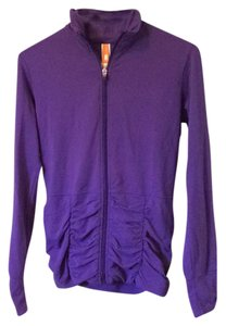 lucy Ruched Zip Up Longsleeve Jacket