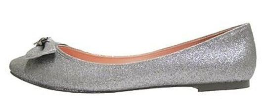 Hello Kitty SILVER GLITTER Flats