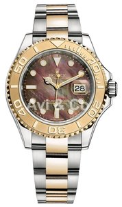 Rolex Rolex Yacht-Master 40 Steel & Yellow Gold Watch Mother of Pearl Dial 16623