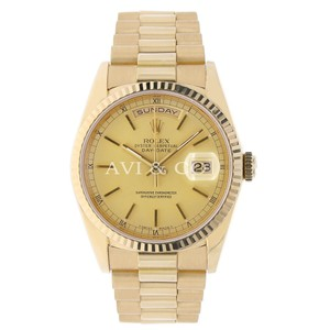 Rolex Rolex Day-Date 36 18K Yellow Gold Watch